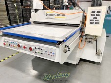 Used DieCut Uk Clicker Press New Price $105,000.? Save Tens Of Thousands On A Like New Machine