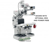 Brand New Jet Industrial Vertical Milling Machine (Heavy Duty)
