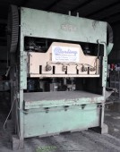 Used Chicago Straight Side Double Crank Punch Press