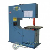 "Brand New DoALL ""Variable Frequency AC Inverter Drive"" Vertical Contour Bandsaw"