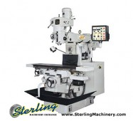 "Brand New Acra Vertical/Horizontal Milling Machine ""Bridgeport Copy"""