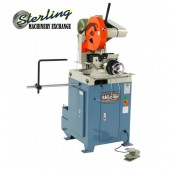 Brand New Baileigh Heavy Duty Semi-Automatic Cold Saw for Aluminum