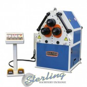 Brand New Baileigh Hydraulic Double Pinch Angle Roll Bending Machine