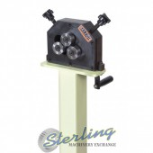 Brand New Baileigh Manually Operated 3 Roll Ring Roller