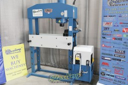 Used (Demo Machinery) Baileigh Manually Operated/Motor Operated Hydraulic Press