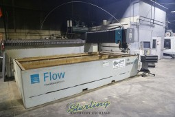 Used Flow 5-Axis Dynamic XD CNC Waterjet Cutting System (GUARANTEED by FLOW DEALER)
