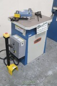 Brand New Baileigh Hydraulic Fixed Angle Sheet Metal Notcher