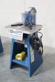 Brand New Baileigh Air Operated Fixed Angle Sheet Metal Notcher
