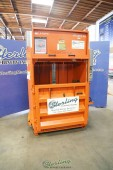 "Used Orwak Plastic and Cardboard Bailer ""LIKE NEW CONDITION"""