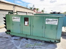 USED SULLAIR TWO-STAGE EXTREME PRESSURE ROTARY SCREW AIR COMPRESSORS WITH ENCLOSURE