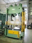 """Used Sutherland 4 Post Hydraulic Down Acting Press """"Excellent Condition"""" LOW PROFILE w/ 48"""" STROKE!"""