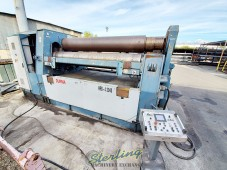 Used Durma 4 Roll Hydraulic Plate Rolling Machine With CNC Control With Rectilinear Guides