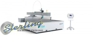 Brand New Flow CNC Waterjet Cutting System