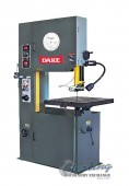 Brand New Dake Manual Feed Table Vertical Bandsaw