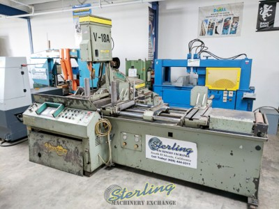 Used Hyd-Mech Automatic Tilting Vertical Bandsaw