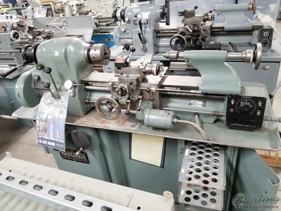Used Hardinge Precision Tool Room Lathe with Inch Threading