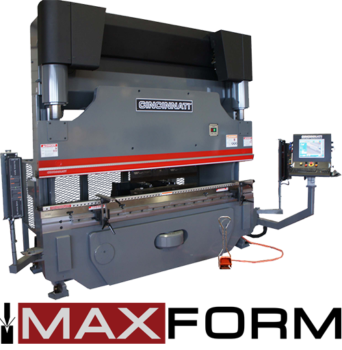 Sterling Machinery Exchange MaxForm Cincinnati Press Brake. Cincinnati