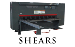 CINCINNATI's Press Brake Models which include the Maxform Series Press Brakes, Autoform+ Series Press Brakes, Proform+ Series Press Brakes, Baseform Series Press Brakes, and the Large Press Brake Series